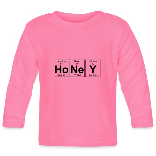 Ho-Ne-Y (honey) - Full - Baby Long Sleeve T-Shirt