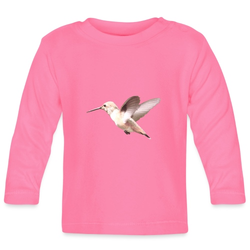 Hummingbird by Lajarin Dream - Camiseta manga larga bebé