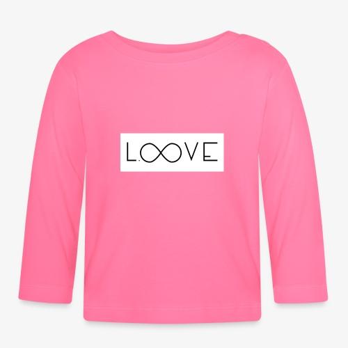 LOOVE Box Logo (SS18) - Maglietta a manica lunga per bambini