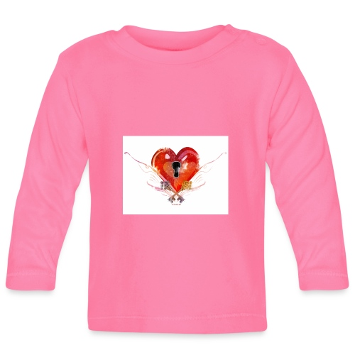 stvalentinmotif2 - T-shirt manches longues Bébé