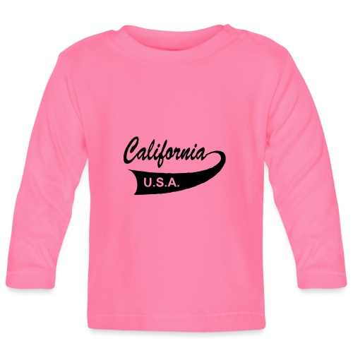 California USA - Baby Langarmshirt