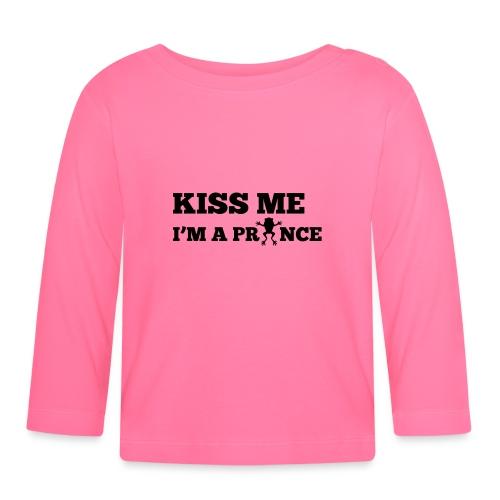 Kiss me, I'm a prince - T-shirt
