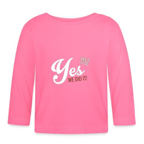 YES-1152.wh - Baby Langarmshirt