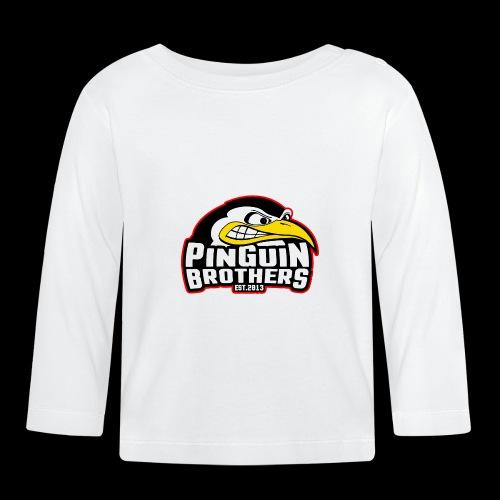 Pinguin bracia Clan - Koszulka niemowlęca z długim rękawem