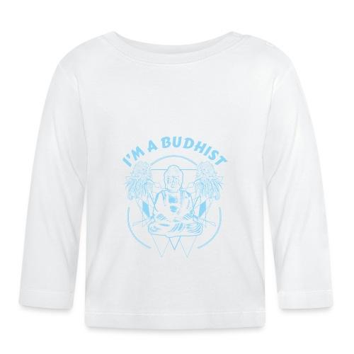 Im a budhist - Langarmet baby-T-skjorte