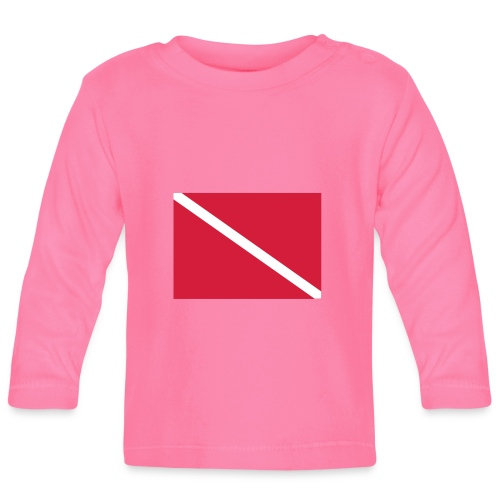 Diver Flag - Baby Long Sleeve T-Shirt