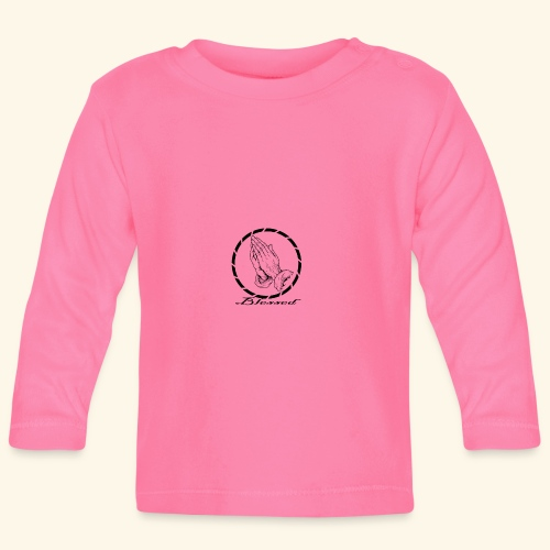 blessed - Camiseta manga larga bebé