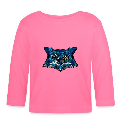 Ugle - Langarmet baby-T-skjorte