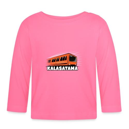11- METRO KALASATAMA - HELSINKI - LAHJATUOTTEET - Vauvan pitkähihainen paita