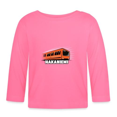 13- METRO HAKANIEMI - HELSINKI - LAHJATUOTTEET - Vauvan pitkähihainen paita