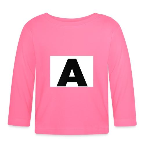 A-685FC343 4709 4F14 B1B0 D5C988344C3B - Langærmet babyshirt