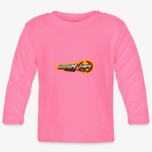 Logo EMPi fond jaune - T-shirt manches longues Bébé