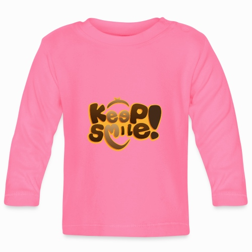 Keep smile - Baby Long Sleeve T-Shirt