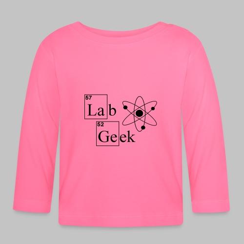 Lab Geek Atom - Baby Long Sleeve T-Shirt