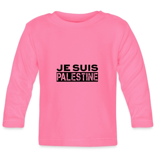 Je Suis Palestine - Baby Langarmshirt