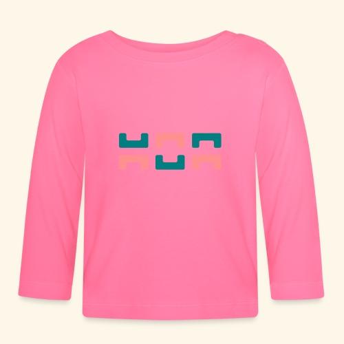 Hoa original logo v2 - Baby Long Sleeve T-Shirt