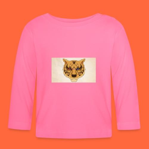 Fuzzy Tigers - Langarmet baby-T-skjorte