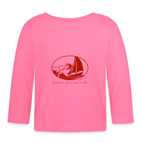 fortgeblasen - Aus Lust zur See - Baby Langarmshirt