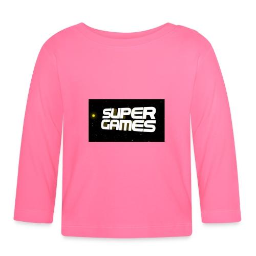 #SuperGames - Baby Langarmshirt
