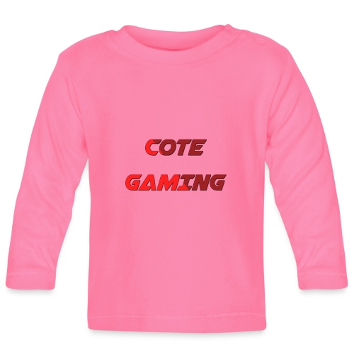 Cote Sweater Rode Letters - Baby Long Sleeve T-Shirt