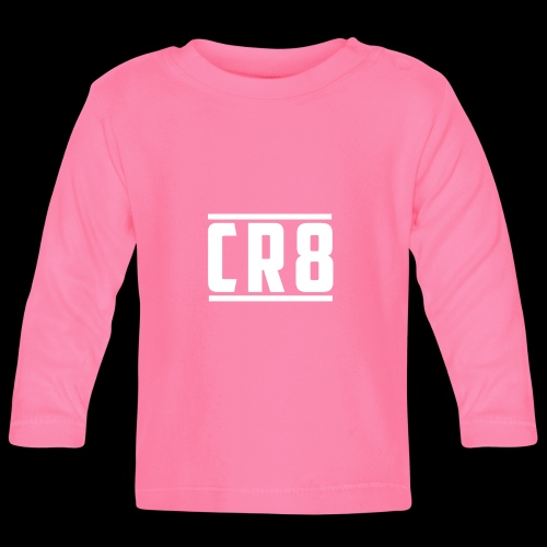 CR8 Hoodie - Black - Baby Long Sleeve T-Shirt