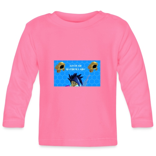Go team mathew labs! - Baby Long Sleeve T-Shirt