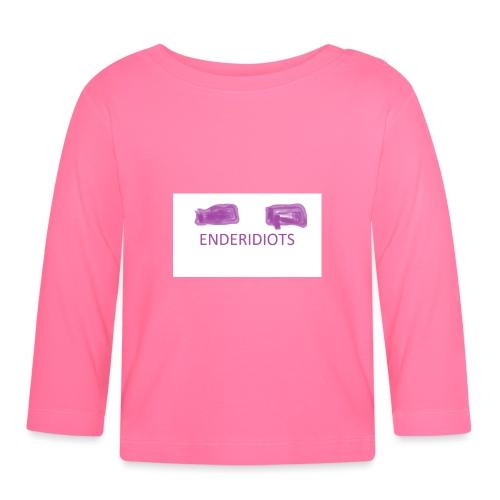 enderproductions enderidiots design - Baby Long Sleeve T-Shirt