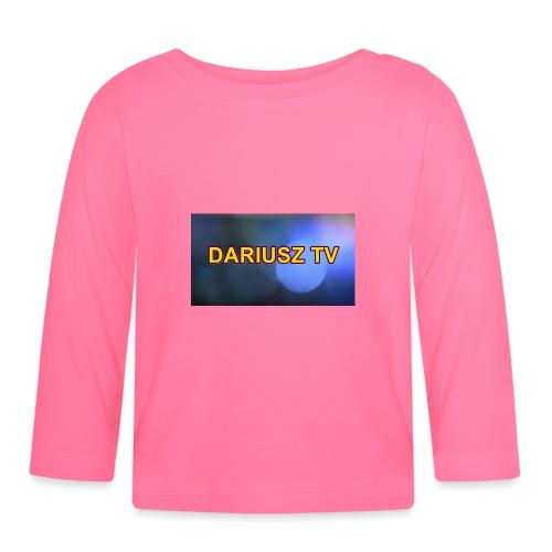 DARIUSZ TV - Koszulka niemowlęca z długim rękawem