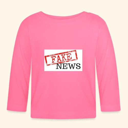 fake news - Baby Long Sleeve T-Shirt