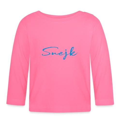 Snejk - Långärmad T-shirt baby
