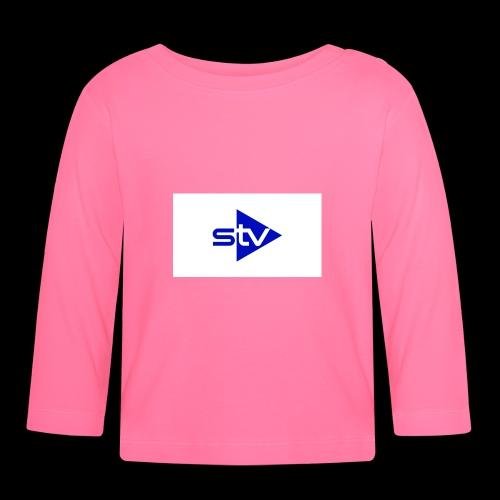 Skirä television - Långärmad T-shirt baby