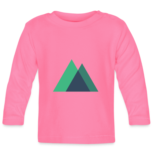 Mountain Logo - Baby Long Sleeve T-Shirt