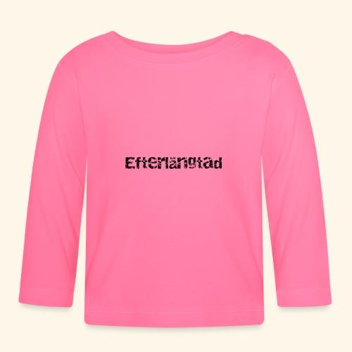 efterlängtad - Långärmad T-shirt baby