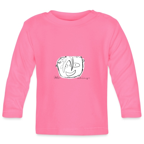 The Face Zoomed | Peter Eric Lang - Baby Long Sleeve T-Shirt