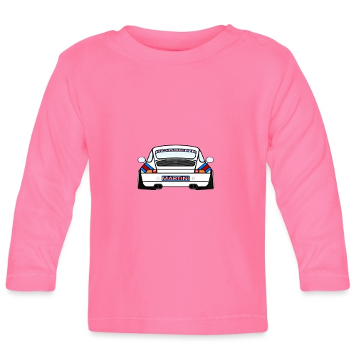 White Sports Car Maritini Livery - Baby Long Sleeve T-Shirt