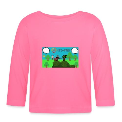 Maglietta Immagine Mario Anti-Pro - Maglietta a manica lunga per bambini