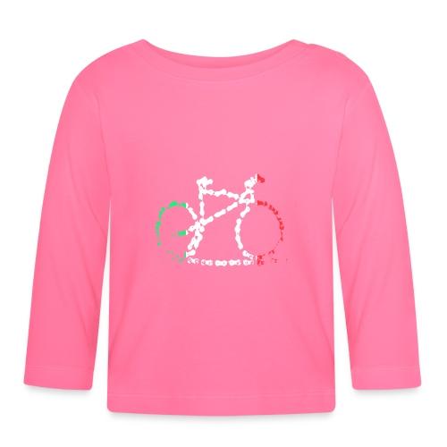 Italian Bike Chain - Baby Long Sleeve T-Shirt