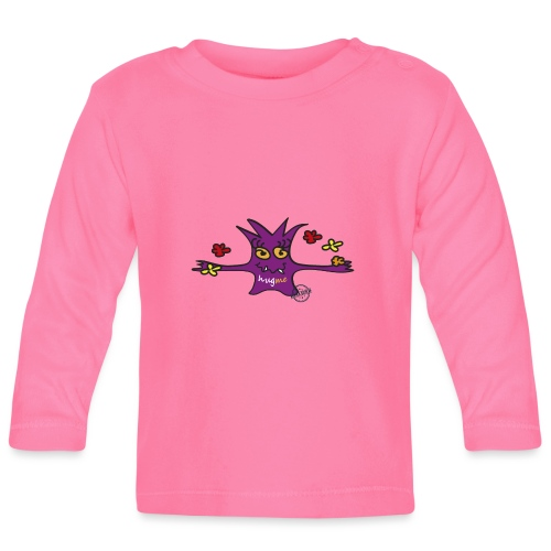 Hug me Monsters - Every little monster needs a hug - Baby Long Sleeve T-Shirt