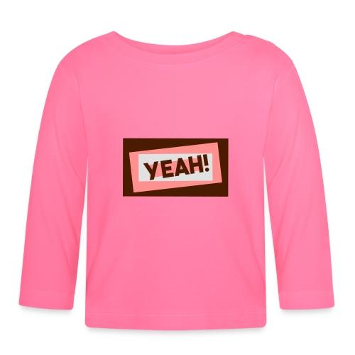 Teddy.Kidswear. – Yeah! - Baby Langarmshirt