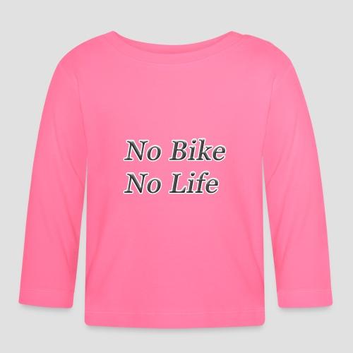 No Bike No Life - Långärmad T-shirt baby