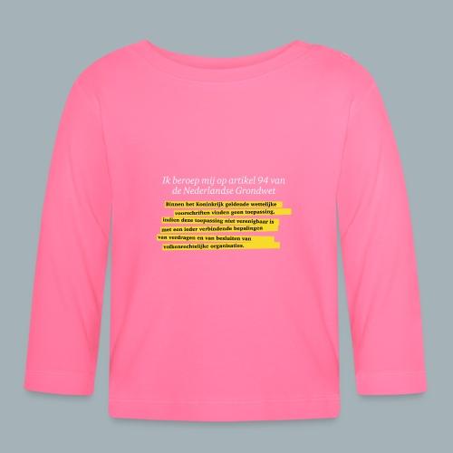 Nederlandse Grondwet T-Shirt - Artikel 94 - T-shirt