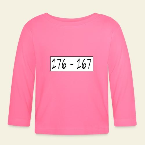 176167 - Langærmet babyshirt