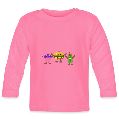 Fast food figures - Baby Long Sleeve T-Shirt