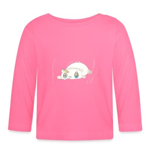 Kids for Kids: sleepingunicorn - Baby Langarmshirt