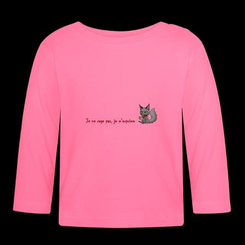 RavenWolfire Design - T-shirt manches longues Bébé