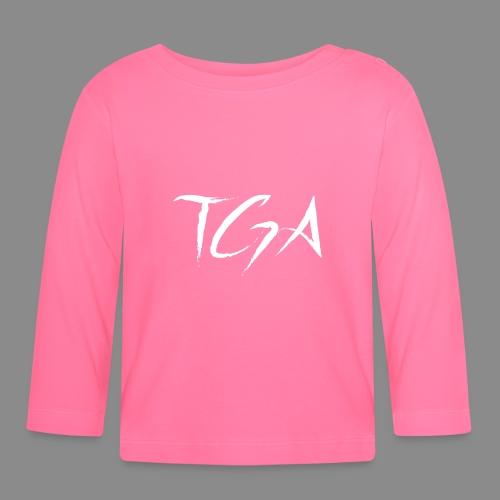 TGA (Hvit) - Langarmet baby-T-skjorte