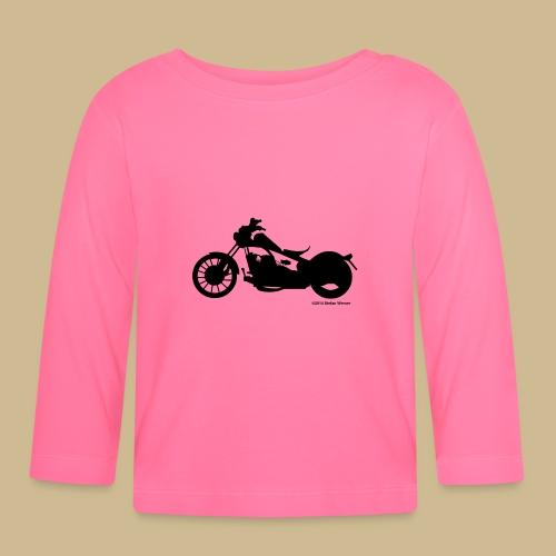Ich-bin-biker - Baby Langarmshirt