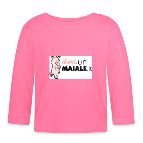 Allevaunmiale.it - Maglietta a manica lunga per bambini