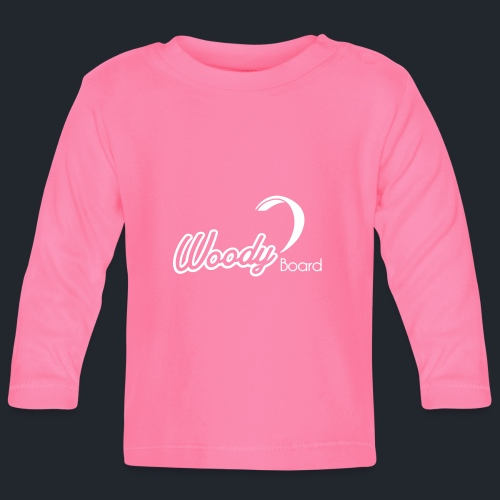 Logo Woodyboard Blanc - T-shirt manches longues Bébé