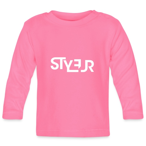 styleur logo spreadhsirt - Baby Langarmshirt
